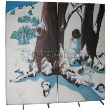 Decor Winter 2 delig lang 2,30 mtr